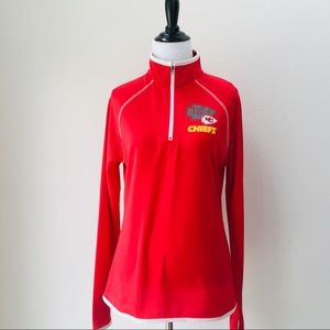 New!! NFL KC Chiefs Ladies Pullover, M